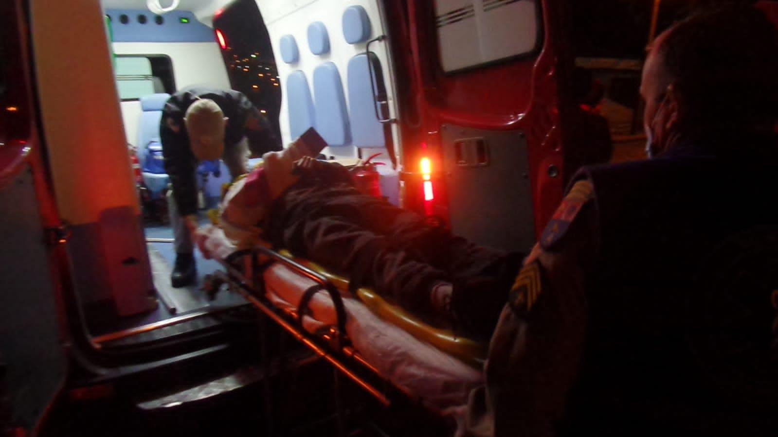 Acidente deixa homem ferido na Ronda, em PG