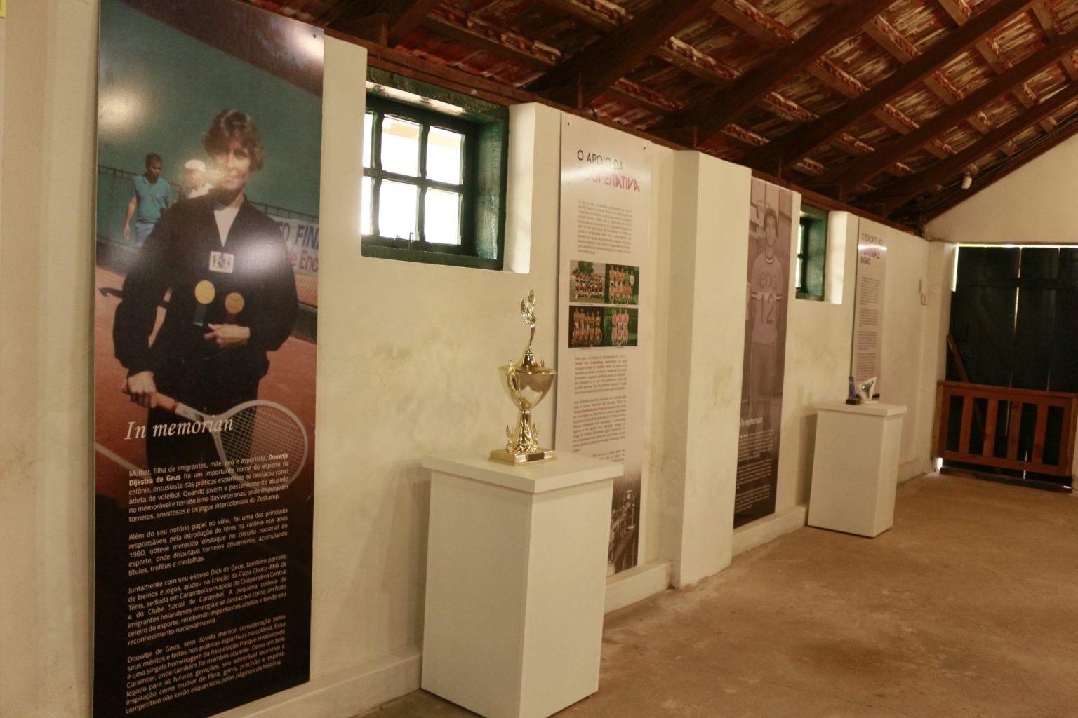 Parque Histórico lança exposição sobre esporte em Carambeí