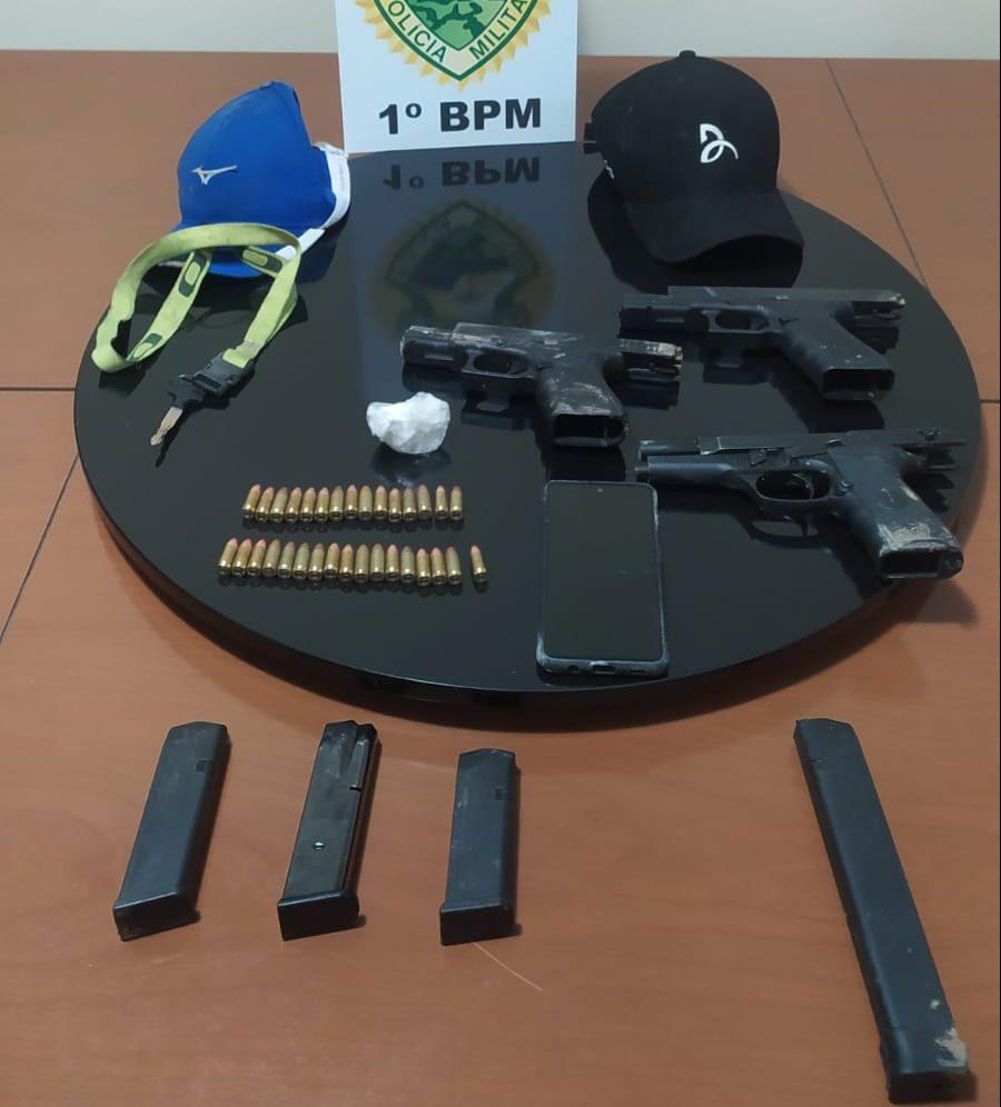Suspeitos de cometer execução em Carambeí trocam tiros com a PM
