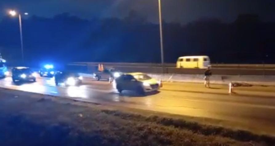 Urgente: Motociclista morre após caminhão colidir e arrastar moto