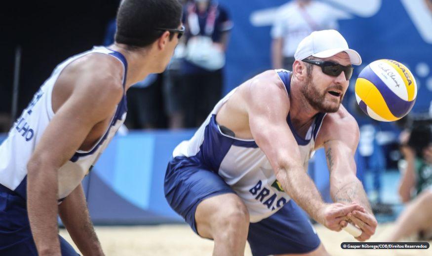 Dupla brasileira é eliminada no vôlei de praia em Tóquio