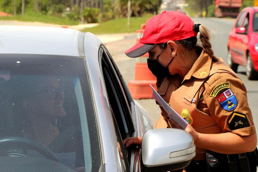 Feriado terá fiscalização redobrada da Polícia Rodoviária nas rodovias estaduais