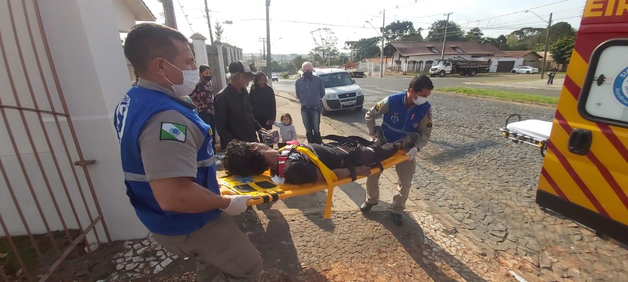 Bombeiros são acionados para atender um ferimento de arma de fogo, mas era uma convulsão