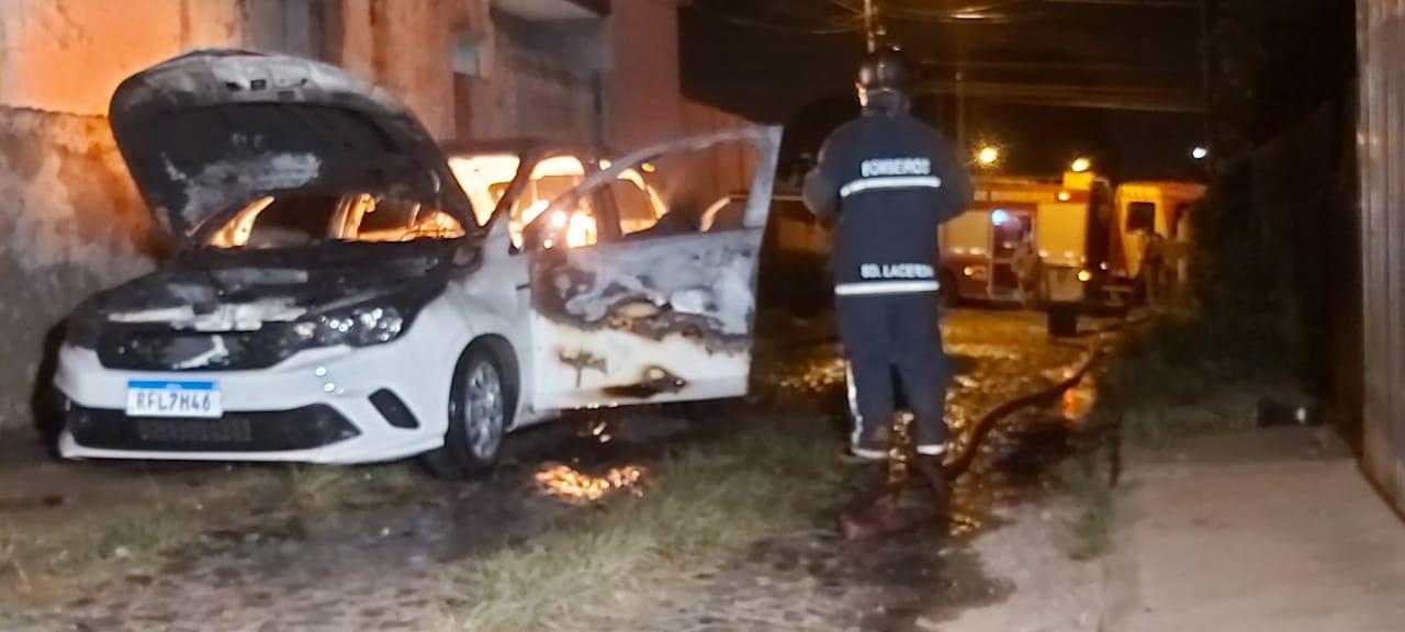 Ladrões assaltam motorista de aplicativo de transporte e fogem com veículo em PG