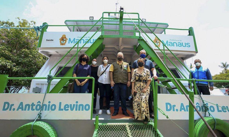Ministro da Saúde entrega unidades fluviais a comunidades ribeirinhas