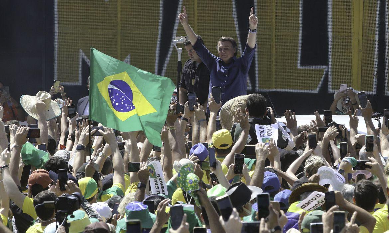 Judiciário avalia o discurso de Bolsonaro durante a manifestação como ameaça