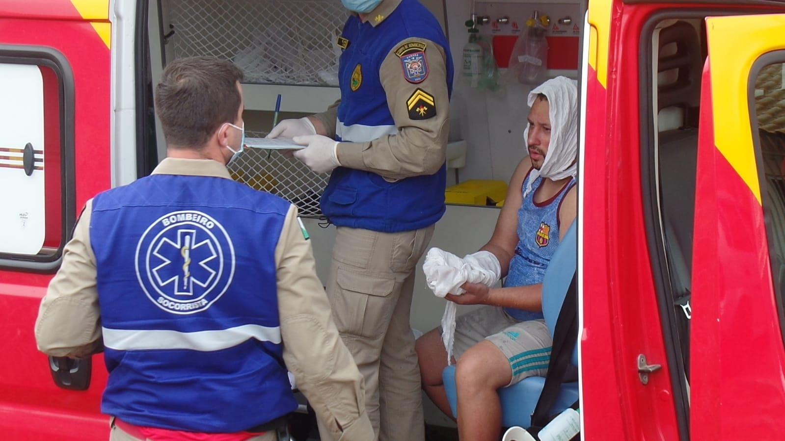 Quatro pessoas ficam feridas após explosão de tacho no Lagoa Dourada