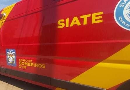 Carro 'esmaga' braço de homem, no Centro de Ponta Grossa