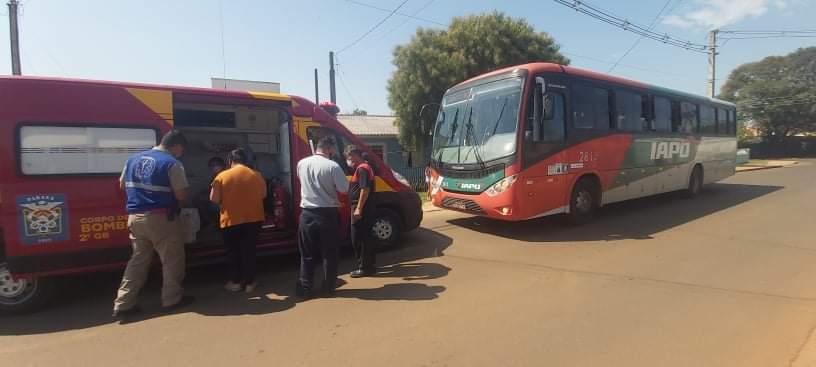 Agora: Criança é atropelada por ônibus na Vila Borato