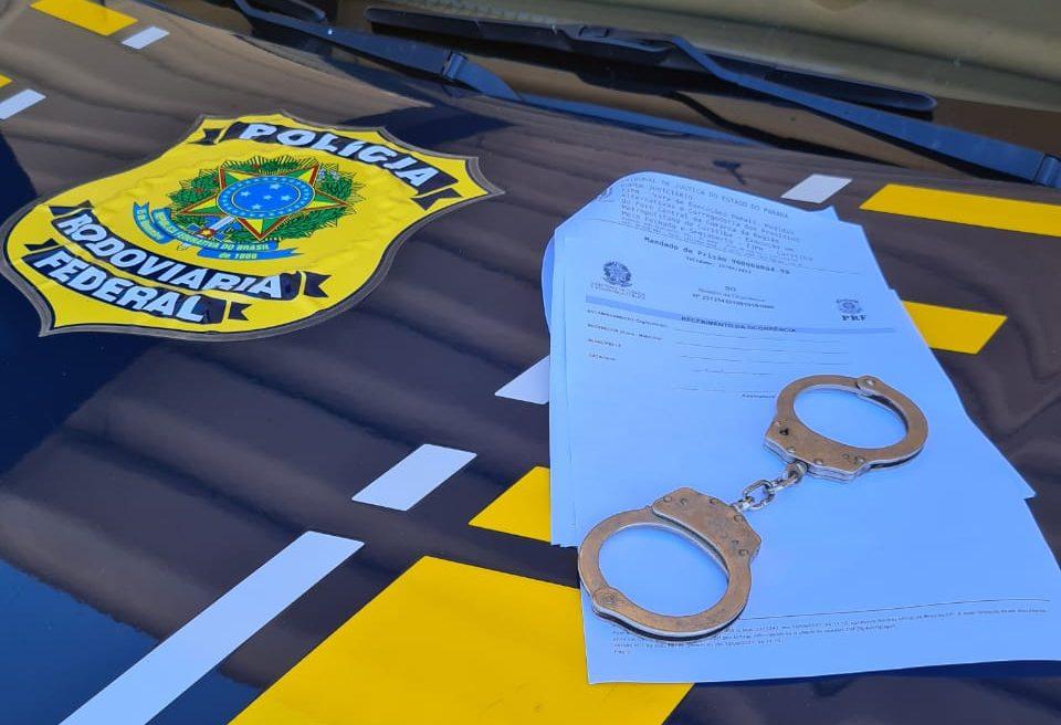 PRF prende assaltante de banco que estava foragido da justiça, em PG