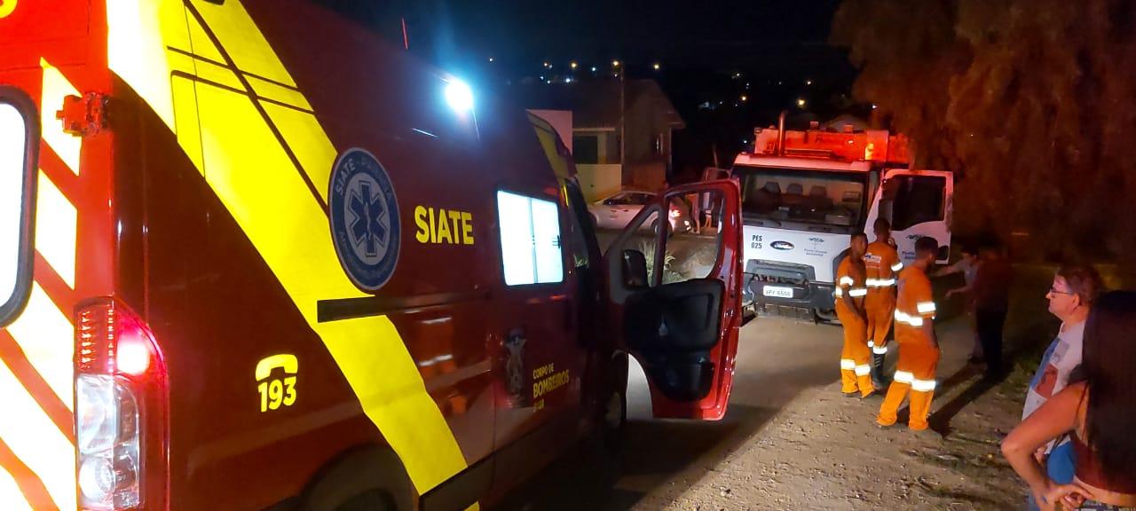 Morre homem atropelado por caminhão de lixo em Ponta Grossa