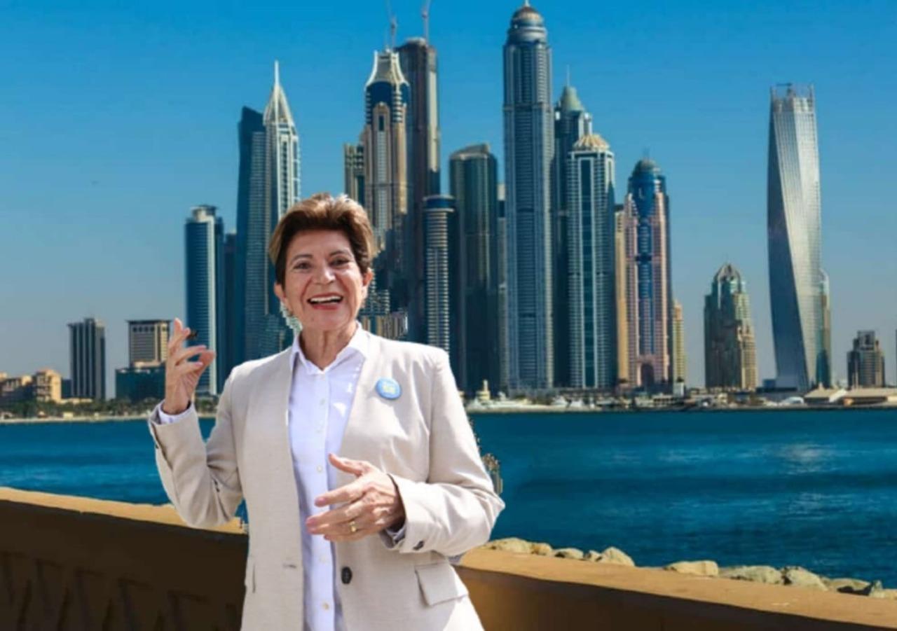 Elizabeth faz viagem com dinheiro público para Dubai em plena pandemia