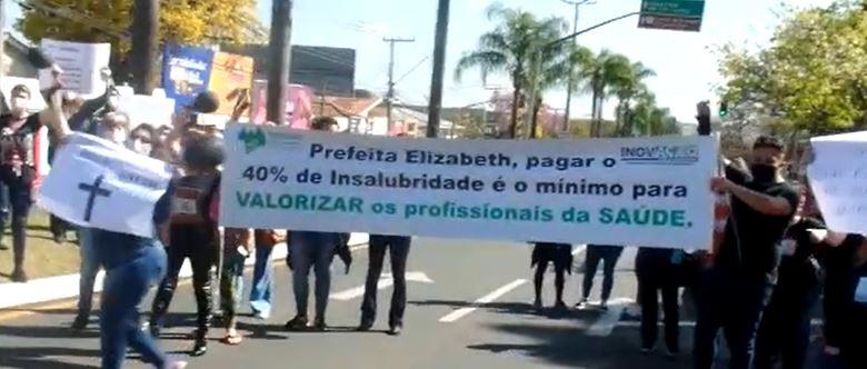 Video: Prefeitura nega pagamento de insalubridade de 40% durante a pandemia