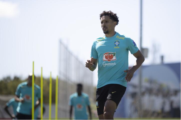 Zagueiro Marquinhos é desconvocado da Seleção