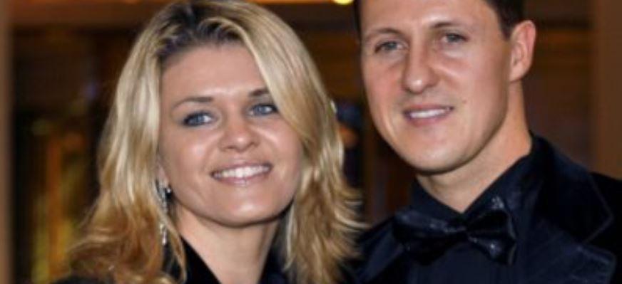 'Michael está diferente, mas está aqui', diz mulher de Schumacher