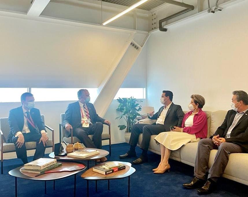 Elizabeth discute novas parcerias e mostra avanços do agronegócio em Dubai