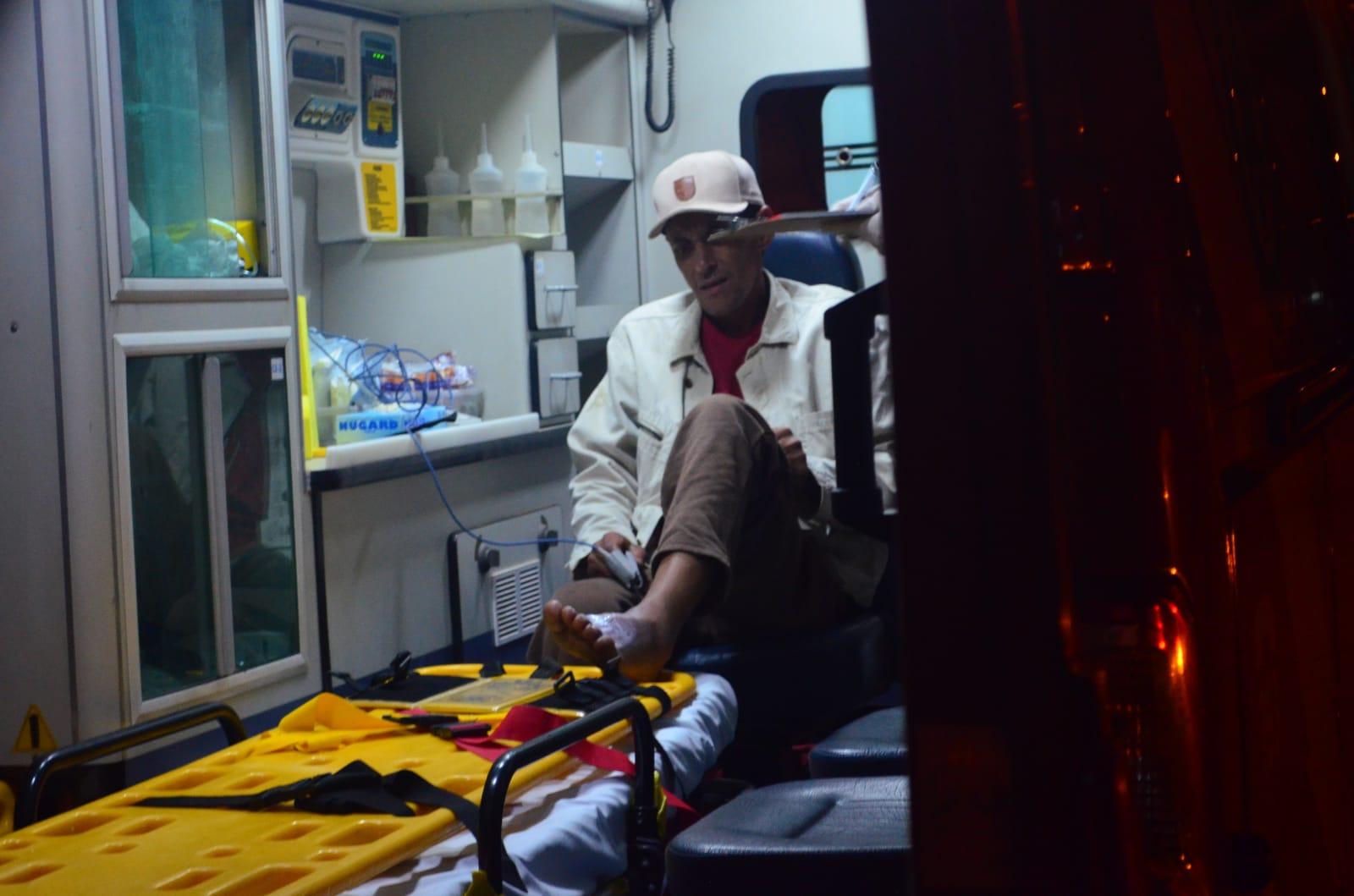 Agora: Homem sofre queimaduras ao fritar coxinha na Marina