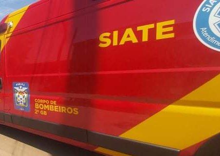 URGENTE: Idoso cai de escada e bombeiros são acionados em PG