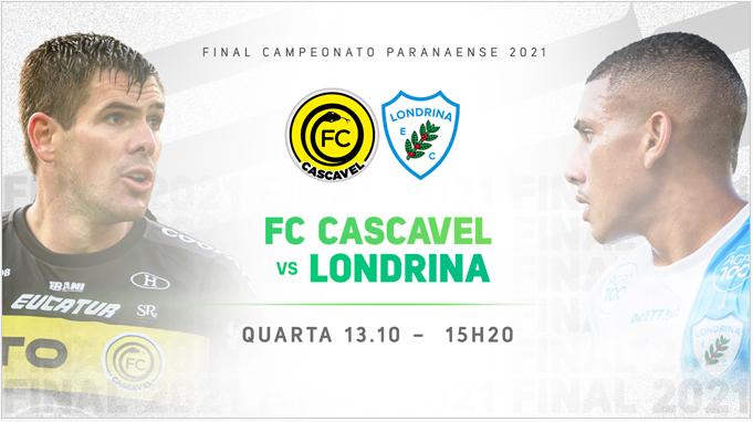 Final do Paranaense: FC Cascavel e Londrina decidem o Campeão nesta tarde